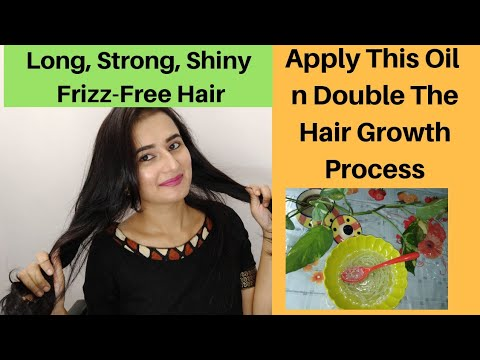 Hair Growth Oil | Apply This Oil n Get Long,  Strong, Shiny, Frizz-Free Hair | SWATI BHAMBRA