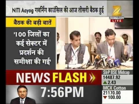 NITI Aayog presents 300 specific action points to boost Indian economy