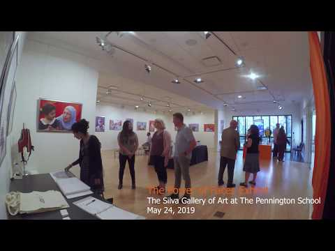 Silva Gallery of Art Exhibit Time Lapse - May 24, 2019