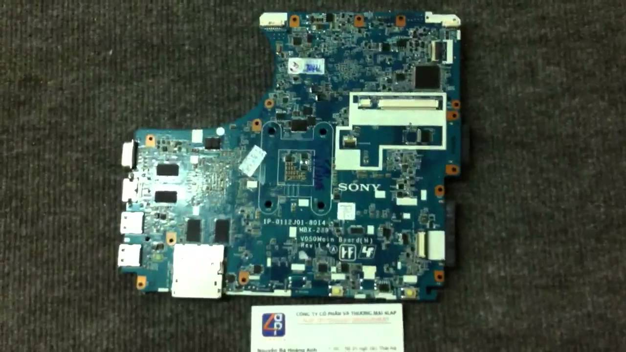 Sony Vaio Vgns Series Schematic Part No 186252522 Sony Mbx