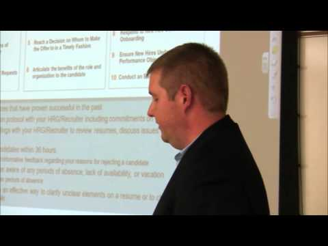 Master of Human Resources: Dan Hawksworth speaks about Honeywell Staffing Center of Excellence