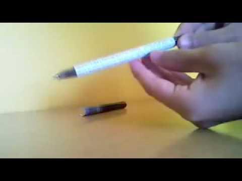 Jak zrobić ściągę w długopisie