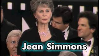 Jean Simmons Toasts