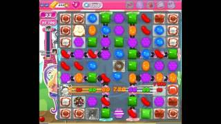 Candy crush saga level 1256 No booster 3 star