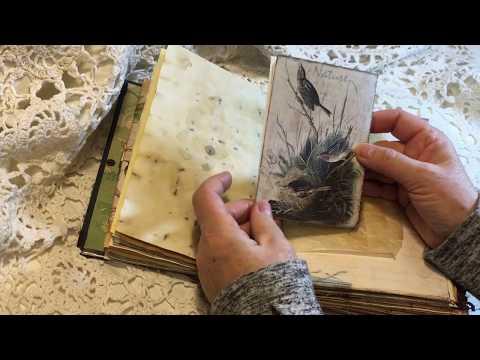 Artymaze & A Tattered Dream DTP - Nature Vintage Junk Journal (Sold)