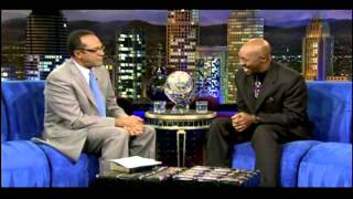 "Pastor Tony Davis interview and singing ""A MIGHTY GOOD FRIEND on TBN"