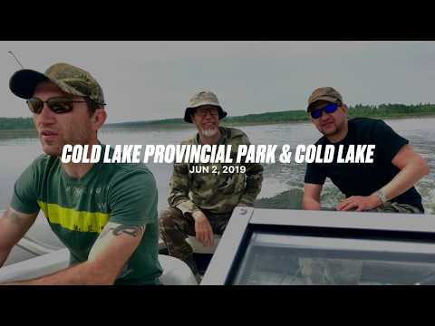 Cold Lake Alberta. Walleye Fishing 2019