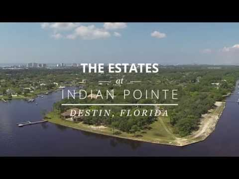 The Estates at Indian Pointe - Destin, Florida - Waterfront Living