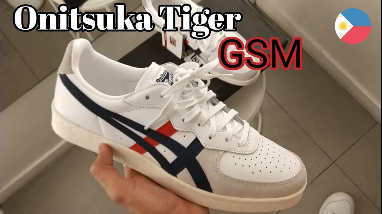 Onitsuka Tiger GSM on feet - YouTube