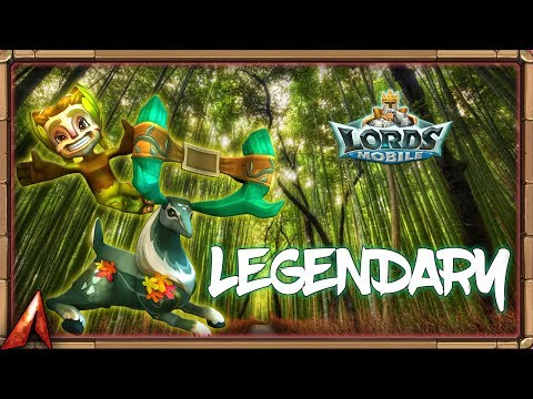 Legendary Grove Guardian & Opening Some Chests! Lords Mobile