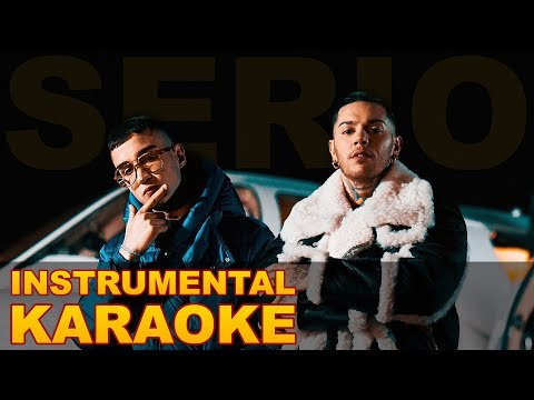 Emis Killa ft. Capo Plaza: SERIO (Karaoke - Instrumental)