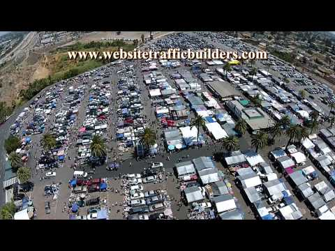 Spring Valley swap meet - San Diego Aerial Photography