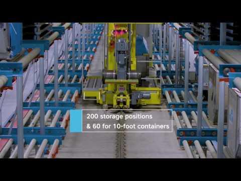 KLM Cargo Innovative Sorter System