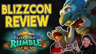 Post Blizzcon 2018 REVIEW ft. Scarra | Rastakhan