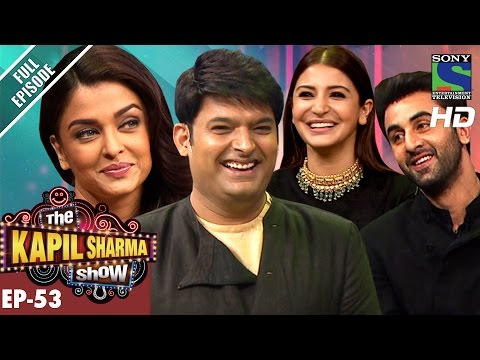 The Kapil Sharma Show -   - Ep-53-Team Ae Dil Hai Mushkil in Kapils Show22nd Oct 2016