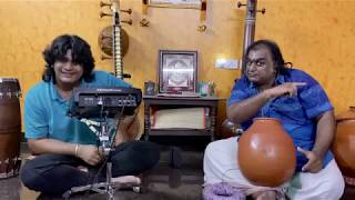 Journey of Rhythm | Ghatam & Handsonic HPD-20 | Ghatam Karthick | Sarvesh Karthick | Percussion Duet