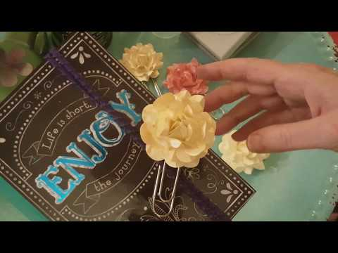 Gorgeous Rose Paper Clips for Tuesday Embellishments