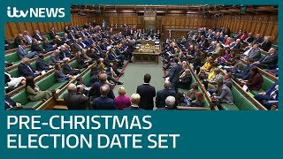 MPs vote for a UK general election on December 12 | ITV News