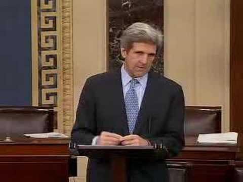 Senator John Kerry's Iraq Press Conference 2/6/07-part 1