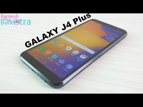 Samsung Galaxy J4 Plus Unboxing and Full Review thumbnail