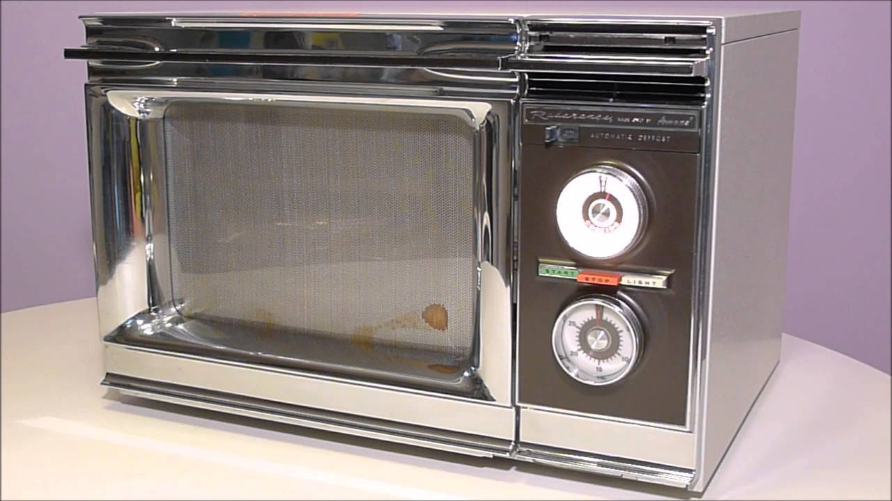 1976 Amana Radarange Microwave Oven Youtube