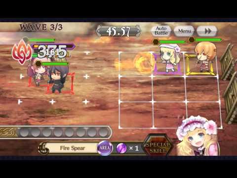 [Chain Chronicle] Katharit Level 19 Kill Mod Gameplay