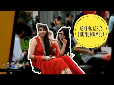Asking Girl's Phone Number in Youthvibe LPU | Prank in India