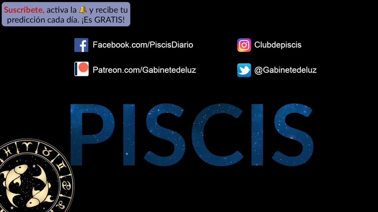 Horóscopo Diario Y Semanal Piscis 21 De Enero De 2019