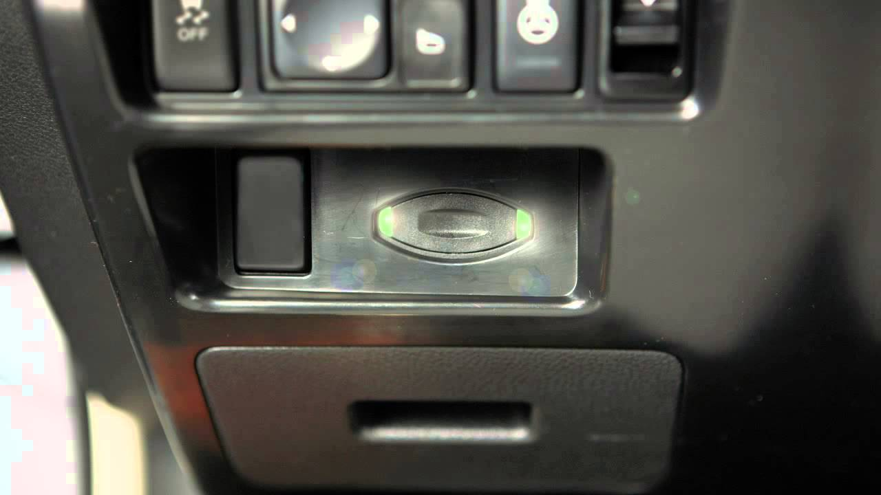 Nissan Maxima: Push-button ignition switch positions
