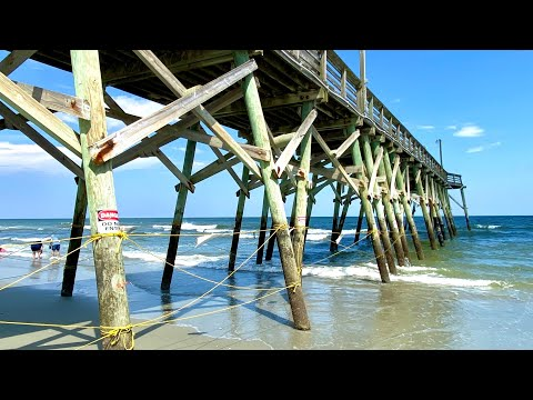 Surfside Pier Restricted Area - Surfside Beach, SC