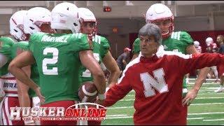 HOL HD: Nebraska Football Wednesday Fall Practice Report