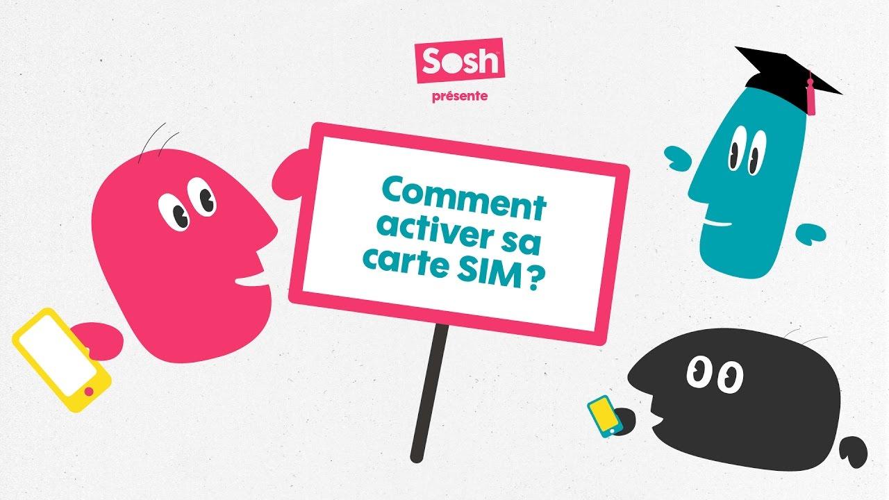 activer carte sim sosh portabilité Les tutos Sosh   Comment activer sa carte Sim ?   YouTube