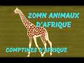 Animaux d'Afrique - 20min de Chansons et Comptines (avec paroles)
