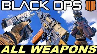 BLACK OPS 4 -  ALL WEAPONS  /  GUN SOUNDS