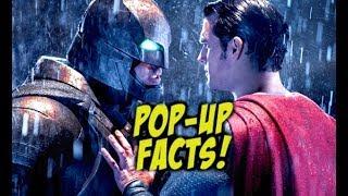 Pop-Up Movie Facts  - Batman V Superman: Dawn of Justice (2017) DCEU Marvel Superhero Film