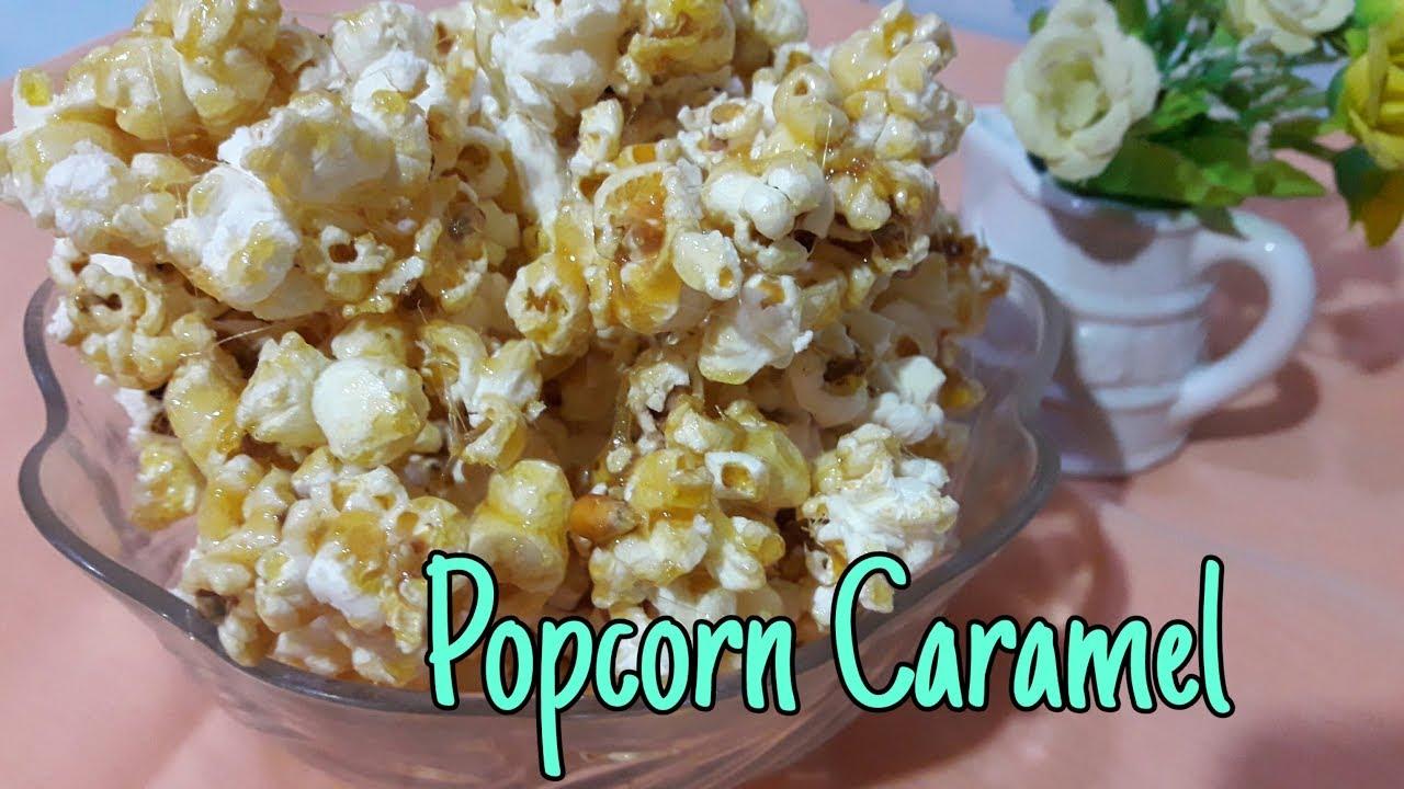 Popcorn Caramel Manis Gurih Cara Membuat Popcorn Caramel Dengan Mudah