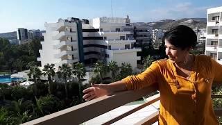 Кипр Лимассол Вид с балкона