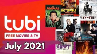What's Coming to Tubi July 2021