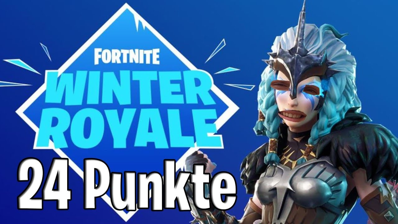 winter royale 24 punkte highlights fortnite battle. Black Bedroom Furniture Sets. Home Design Ideas