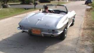 1964 Corvette Silver Fuelie Convertible Barn Find Review Video