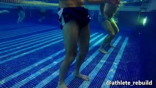 Aquatic therapy / Hydrotherapy for Athletic Rehab