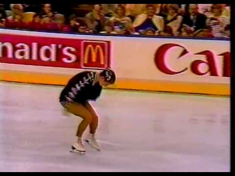 Katarina Witt (GDR) - 1987 World Figure Skating Championships, Ladies' Long Program