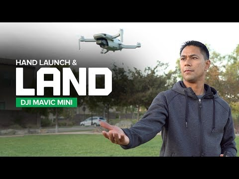 How to Hand Launch and Land your DJI Mavic Mini