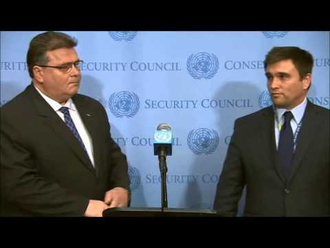 ICP Asked FMs of Ukraine & Lithuania About Next UNSG and Eastern European Group, Crimea
