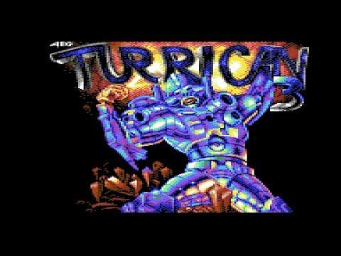 Commodore C64 Longplay [0005] Turrican 3: Return Of The Darkness (Homebrew)