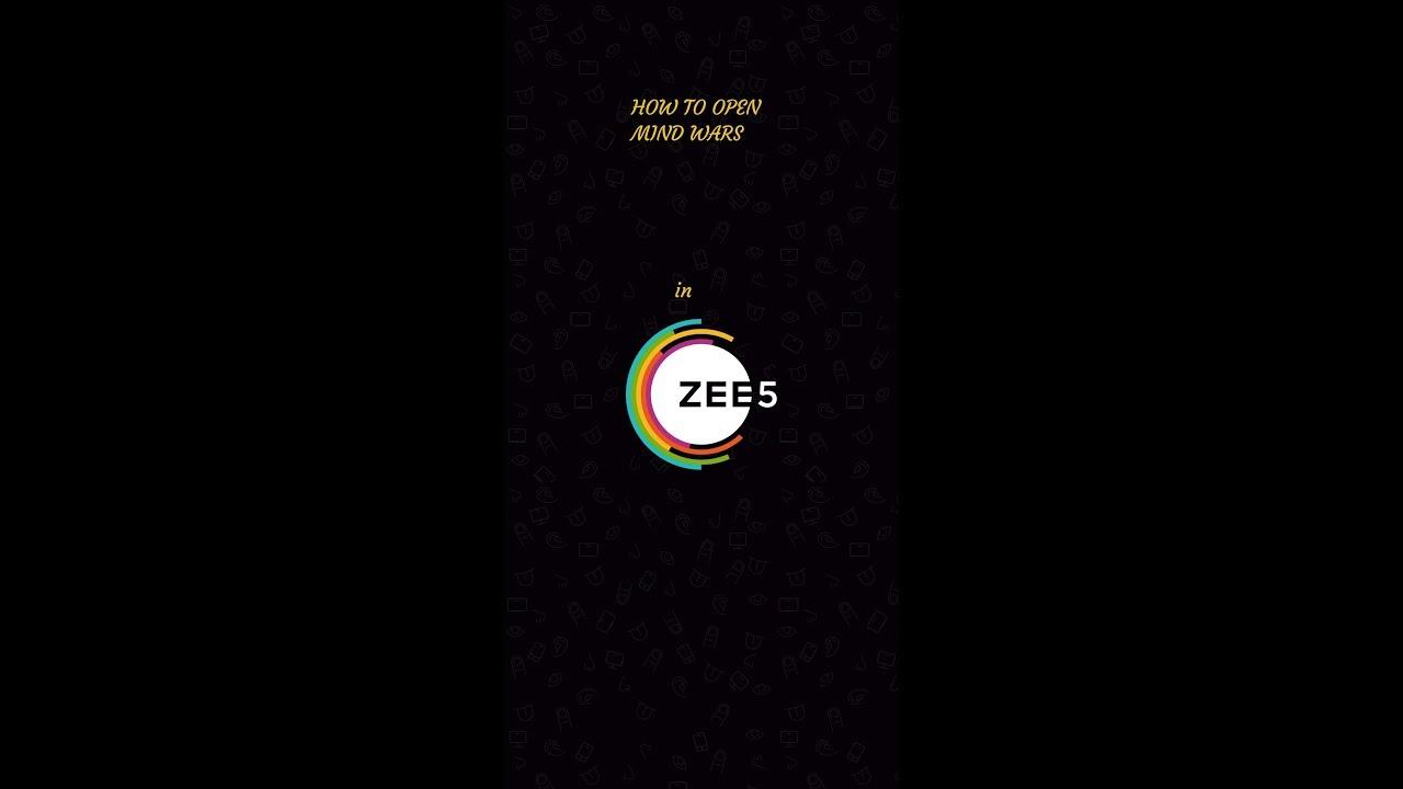 How to open mind wars option in Zee5 app