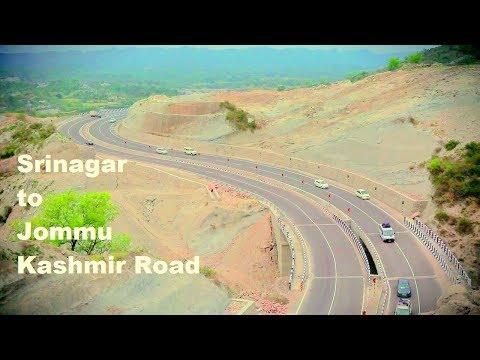 Srinagar to Jommu Kashmir Road