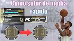 Como subir de media rápido y conseguir más puntos - Únete a mi Discord! NBA 2K20 en español
