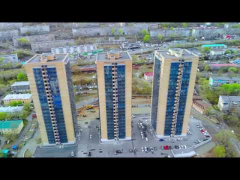 Золотой Рог, жилой комплекс. Калинина, 11а, 13а, ?а. Владивосток.