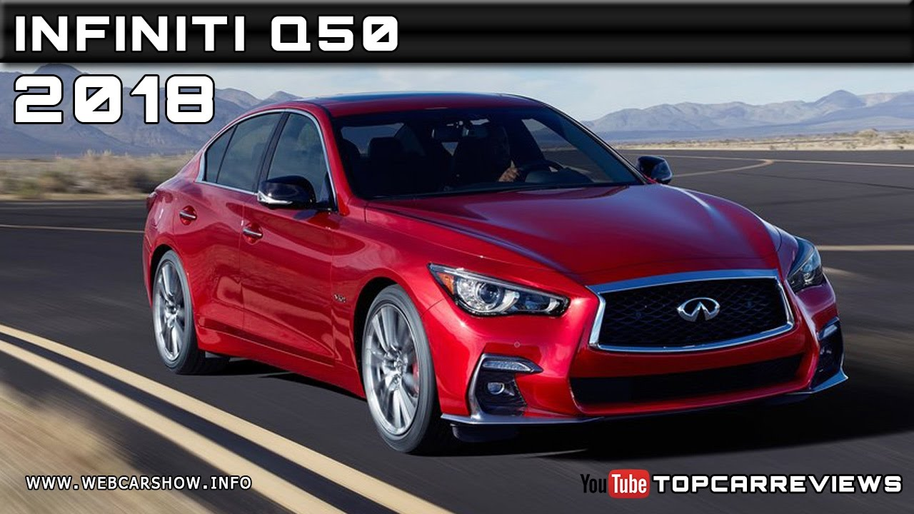 2018 Infiniti Q50 Review Rendered Price Specs Release Date